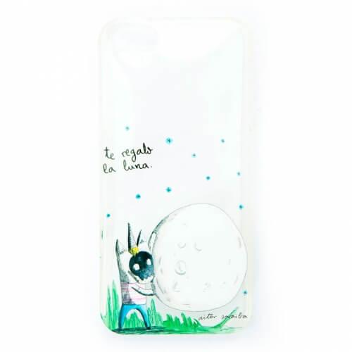 "Carcasa iPhone 5/SE ""Luna"" de Aitor Saraiba"