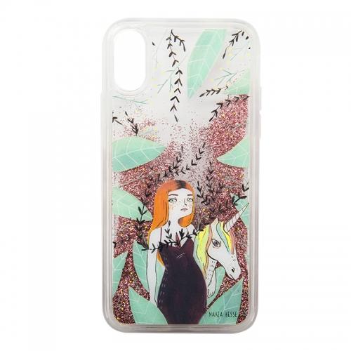 "Carcasa iPhone X/Xs ""Unicornio"" de María Hesse"