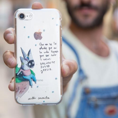 Carcasa iPhone 7 Saraiba Feliz