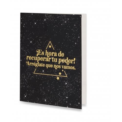 "Tarjeta ""Poder"" de Horóscopo Negro"