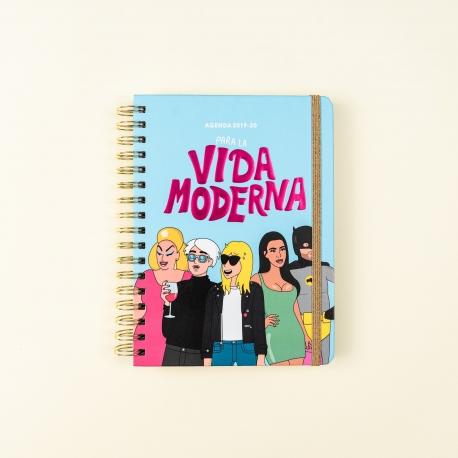 Agenda escolar 2019-2020 Moderna de Pueblo