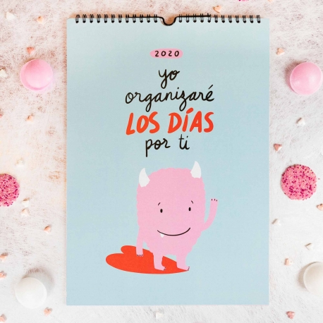 Calendario pared 2020 de Lyona