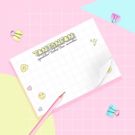 Taco de notas de Tantanfan