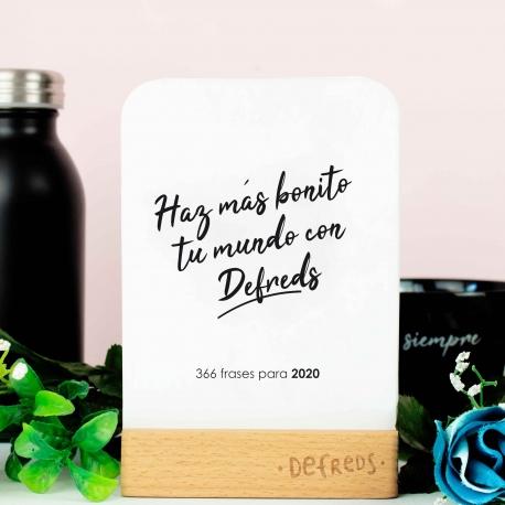Calendario tarjetas Defreds 2020
