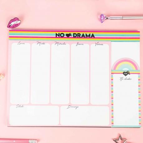 """Organizador """"No drama"""" de La Vecina Rubia"""