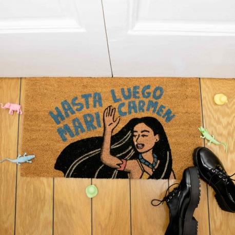 """Felpudo """"Hasta luego Mari Carmen"""" de Moderna de Pueblo"""