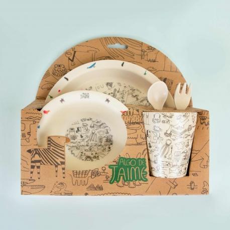 Kit infantil de desayuno de Algo de Jaime