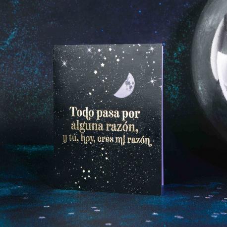 "Tarjeta ""amor"" de Horóscopo Negro"