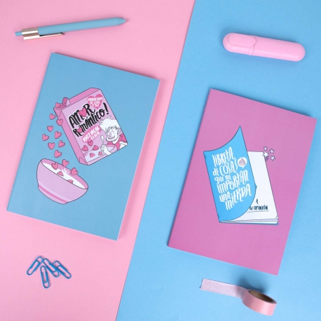 Pack 2 cuadernos cosidos de Alfonso Casas