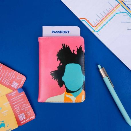 Funda de pasaporte de Coco Dávez