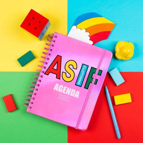 Agenda anual semanal 2021 AS IF